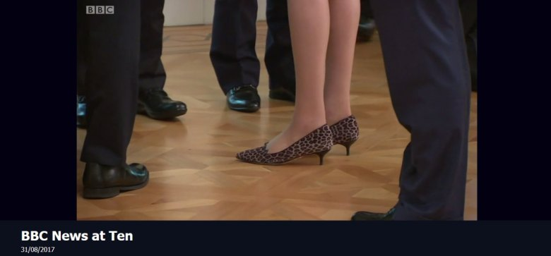 BBC Show Theresa May's Shoes